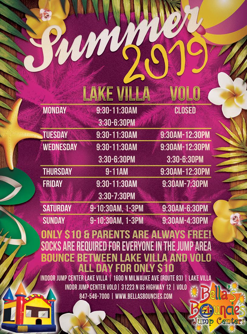 Lake Villa Family Entertainment Center   BellasBounciesIndoors com